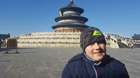 Patrik už zdraví z Pekingu