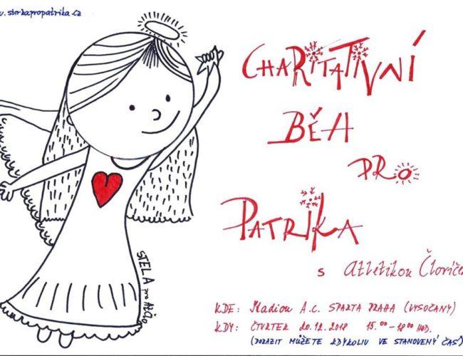 Zveme vás na charitativní Běh pro Patrika