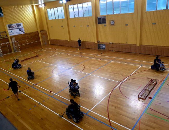 Florbalový trénink