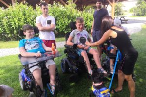 Prázdninová paráda na táboře v Pluhově Žďáru